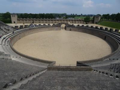 Beste Sicht im Amphitheater