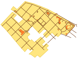 Karte des APX